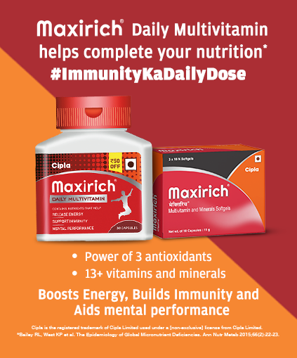Maxirich Daily Multivitamin Helps Complete You Nutrition