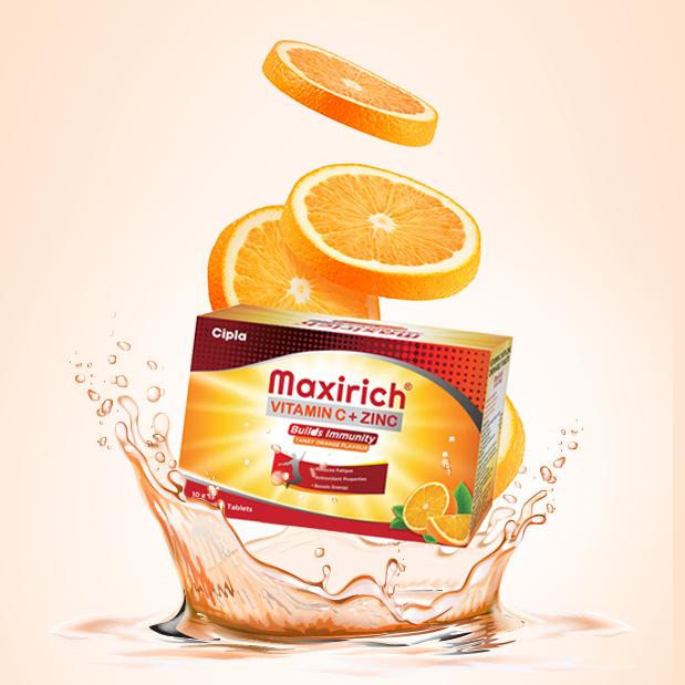 Maxirich Vitamin C + Zinc
